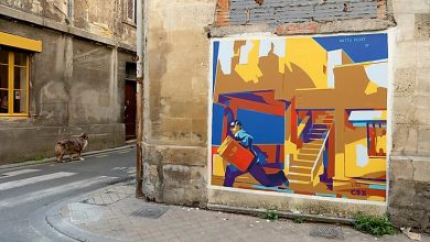 Photo of Le street artiste Matth Velvet s'expose à l'Institut culturel Bernard Magrez