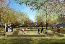 Photo of Début des travaux d'aménagement du parc paysager du Grand Parc