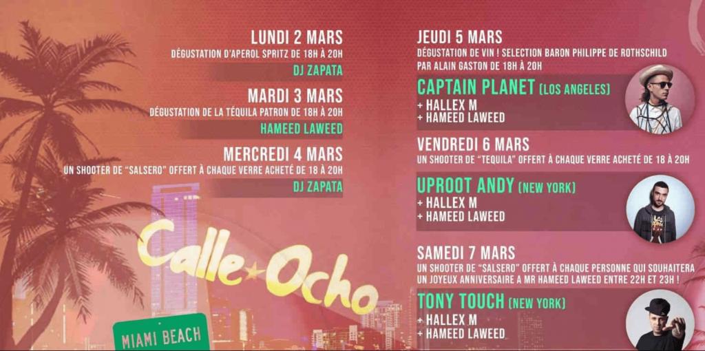 Calle Ocho bar latino Bordeaux