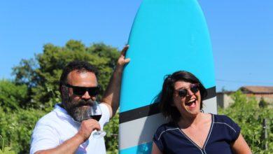 Photo of Une séance de surf suivie d'une dégustation de vins à Saint Emilion