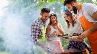 Photo of Barbecue, balade et voile au Lac de la Blanche sur la Rive droite