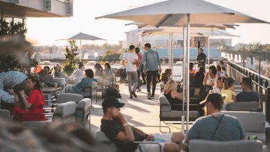 Photo of Cocktails, barbecue et tapas tout l'été sur le rooftop du Dock G6