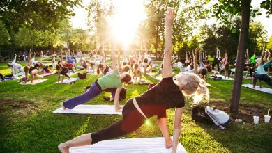 Photo of Des cours de Yoga en plein air au Jardin public de Bordeaux