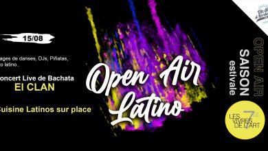 Photo of Open air latino aux Vivres de l'art samedi 15 août