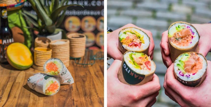 Makito Sushi burrito Bordeaux