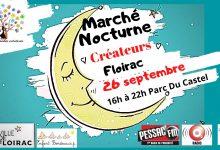 Photo of RDV au Marché Nocturne des créateurs samedi de 16H à 22H au Parc Castel à Floirac