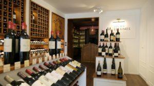 Cave vin spiritueux