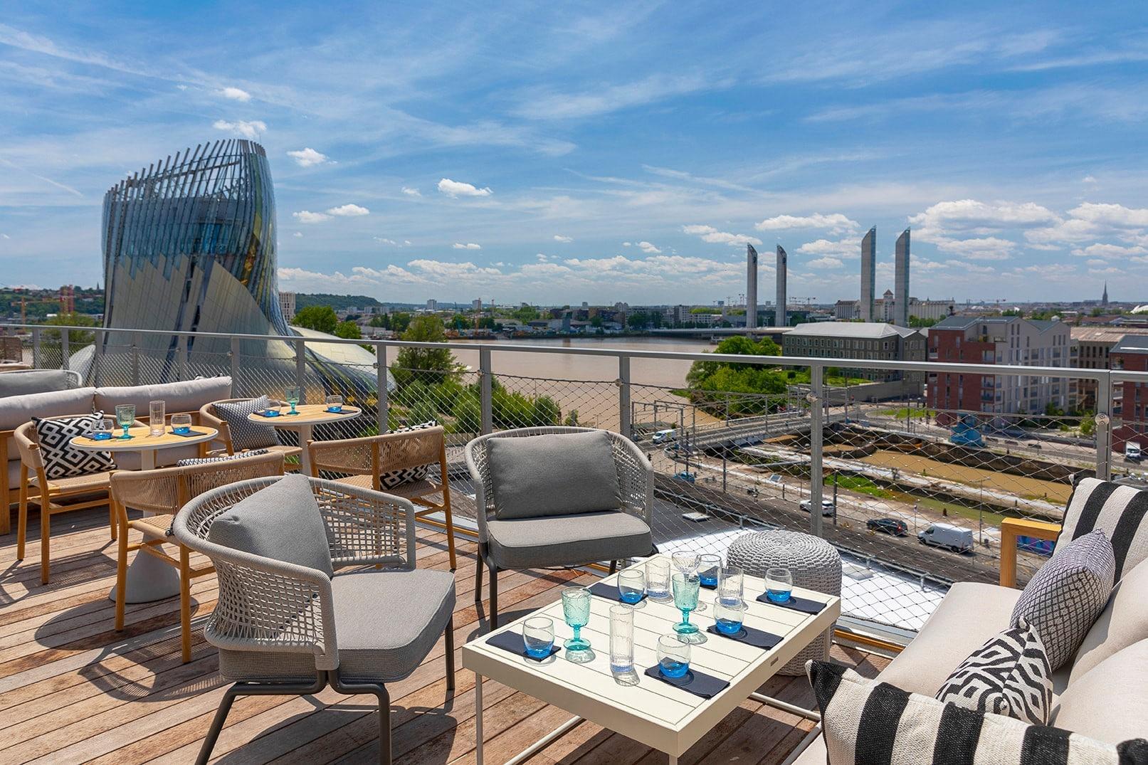 rooftop Bordeaux