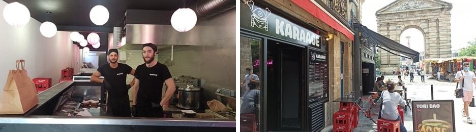 Karaage street food japonaise