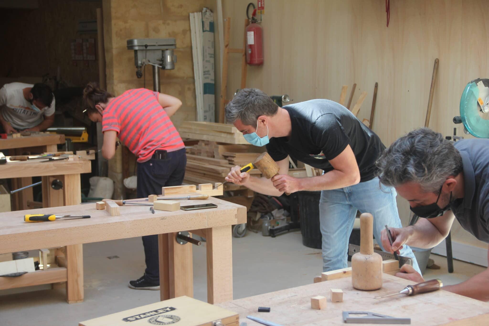 Atelier bois Bordeaux Coworking