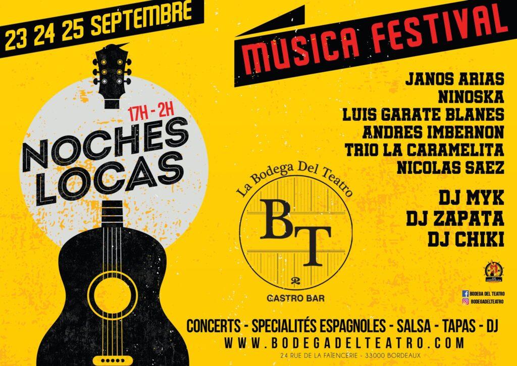 festival espagnol latino Bordeaux