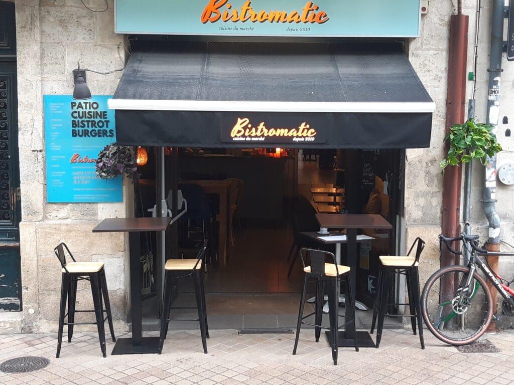 Bistromatic restaurant Bordeaux