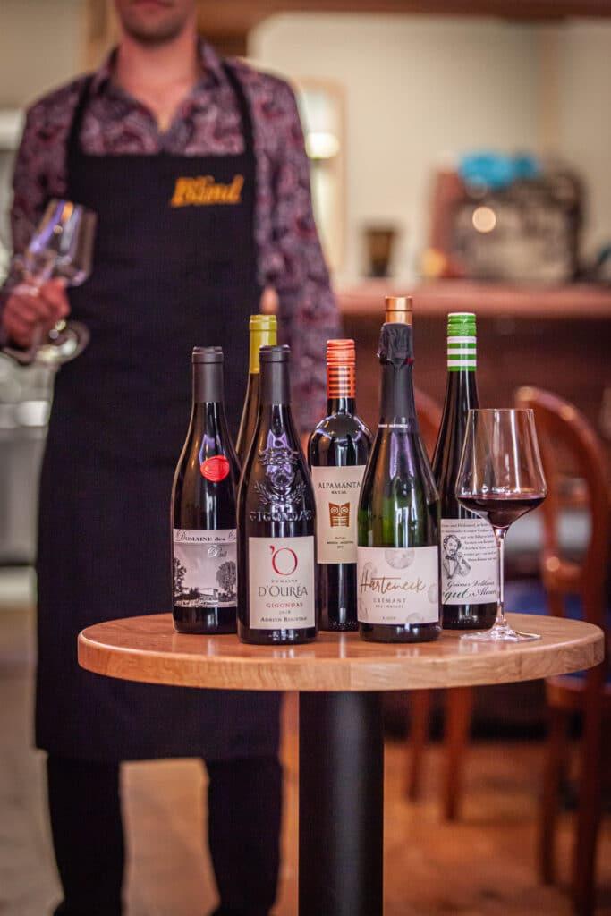 Blind bar à vin Bordeaux